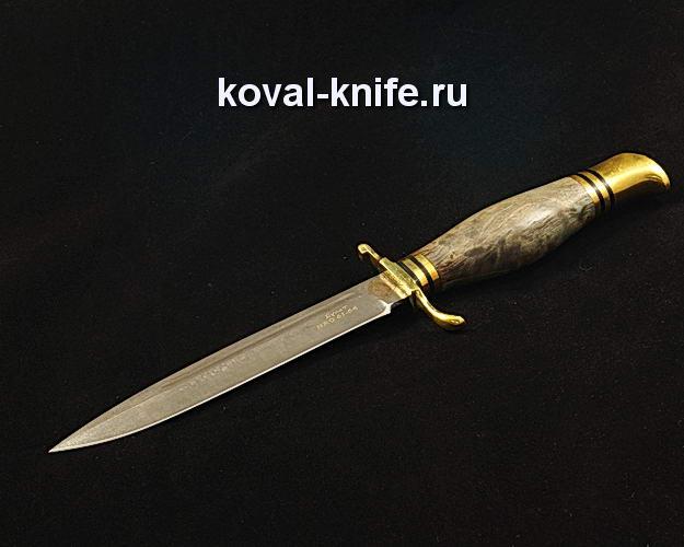 Нож Финка НКВД S93 из булатной стали